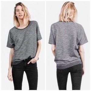 Everlane Short Sleeve Tunic Sweatshirt